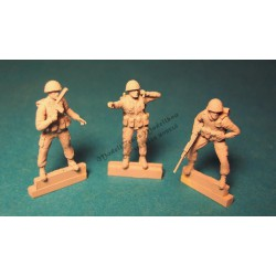 IDF infantry ~1980 (3 fig)