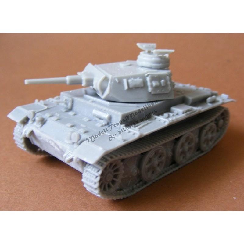 Panzer III G/H with FAMO Schachtellaufwerk.