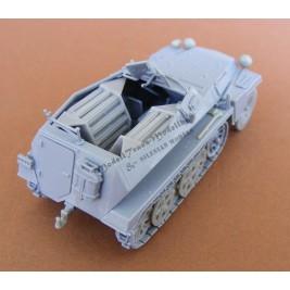 SdKfz 250/6 Ausf B. Munitionsfahrzeug.