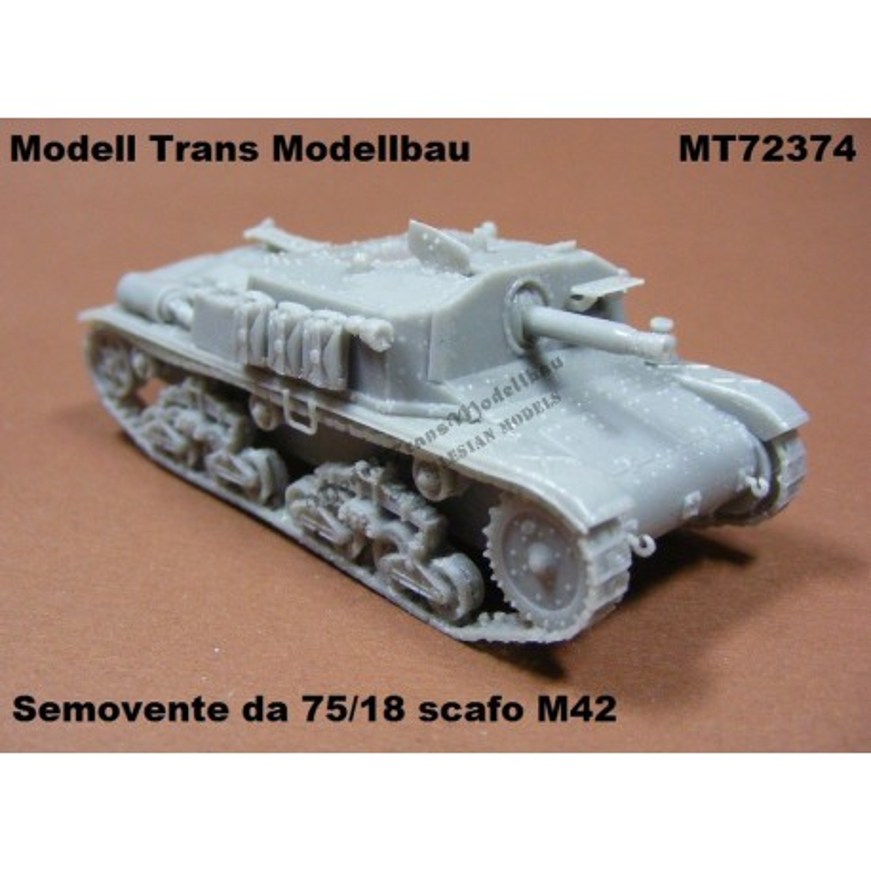 Semovente da 75/18 scafo M42