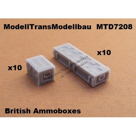 British Ammoboxes. 20 parts.
