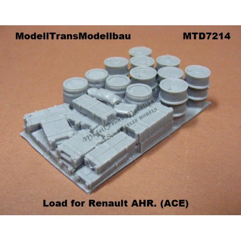 Load for Renault AHR.