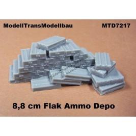 8,8 cm Flak Ammo Depot.