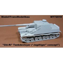 "Jap. Tank destoyer ""CHI-RI"". Jagdtiger Concept."