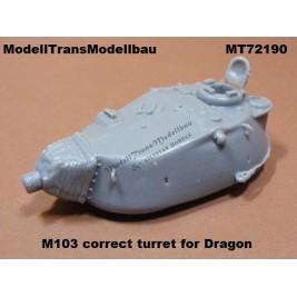 M103 correct turret.