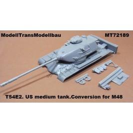 T54E2. US medium tank
