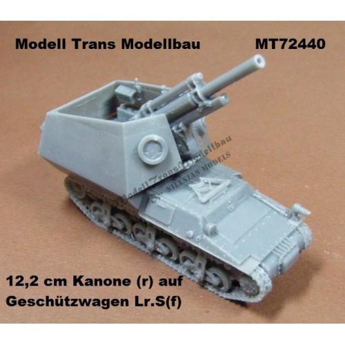 12,2 cm Kanone(r) auf Geschützwagen Lr.S(f)