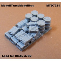 Load for URAL-375D.