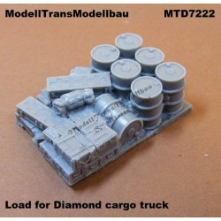 Load for Diamond cargo truck.