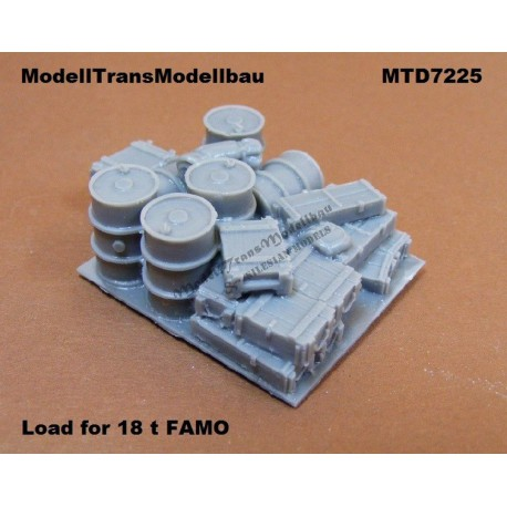Load for 18 t FAMO.