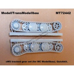 sWS tracked gear set (for MC Modellbau). Quickkit.