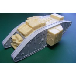 Mark I supply tank. Conversion for Airfix.