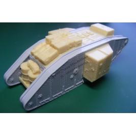 Mark I supply tank. Conversion for Airfix.