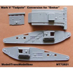 "Mark V ""Tadpole"". Conversion for Mark IV (Emhar)."