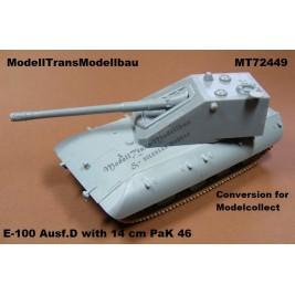 E-100 Ausf.D. 14 cm PaK turret