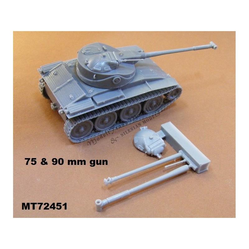 T71 US light tank. Allied tanks '46.