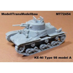 Jap. tank KE-NI Type 98 model A.