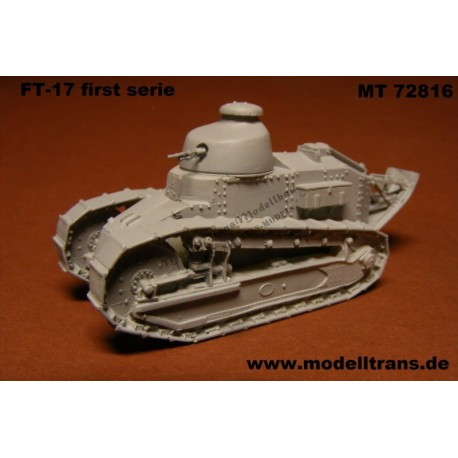 RENAULT FT-17 first serie