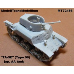 "Japanese antiaircraft tank ""TA-SE"" (Type 98)."