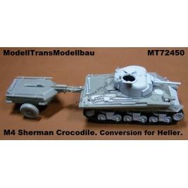 "M4 ""Sherman-Crocodile""."