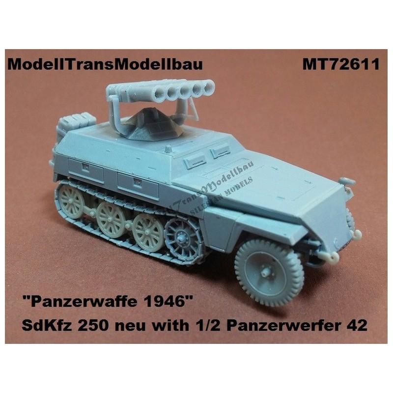 SdKfz 250 neu with 1/2 Panzerwerfer 42. Panzerwaffe'46.