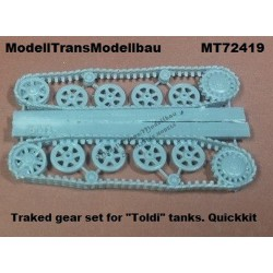 """Toldi"" tracked gear set (for IBG). Quickkit."