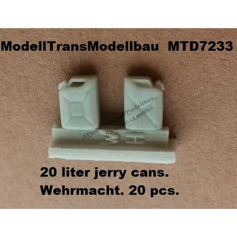 20 liter jerry cans. Wehrmacht. 20 pcs.
