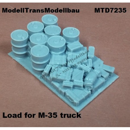 Load for M35 cargo track. For Academy.