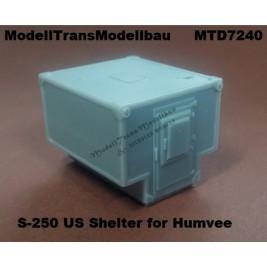 S-250 US Shelter for Humvee