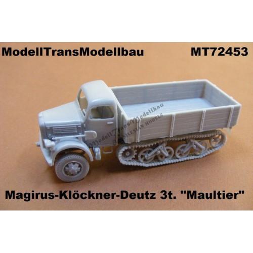 """Magirus-Klöckner-Deutz S3000 """"Maultier"""""""