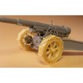 Trackshoes for 155 mm GPF gun (RPM)