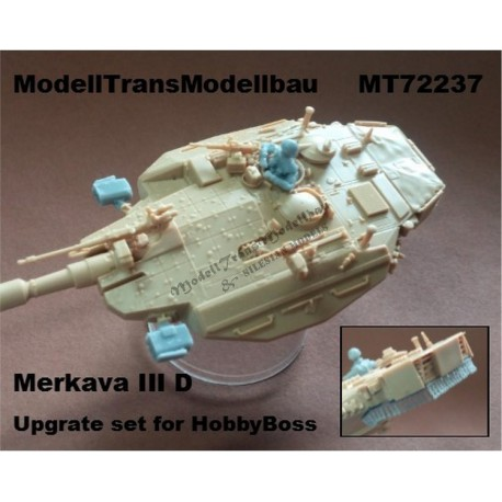 Merkava III D. Upgrat set for Hobby Boss.